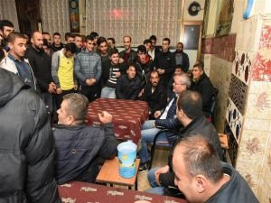Vali Ahmet Deniz Esnaf Ve Vatandaşları Ziyaret Etti
