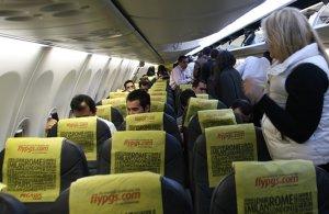 Pegasus'ta yolcu sayısında artış yaşandı