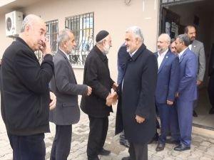 Yapıcıoğlu'ndan Taş ailesine taziye ziyareti