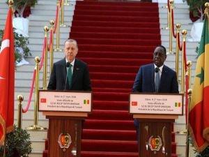 """""""Senegal bizim için değerli bir dost ve stratejik ortaktır"""""""