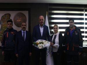 AFAD İl Müdürlüğünden Aksoy'a ziyaret