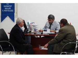 Hac kayıtlarına Gaziantep'te yoğun ilgi