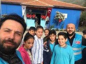 Deniz Feneri Genç İyilik Gönüllüleri Köyceğiz'de iyilikte buluştu