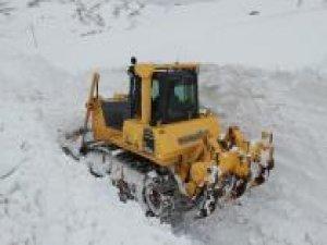 Ağrı'da karla mücadele