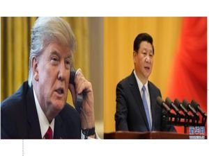 Xi ve Trump telefonda görüştü