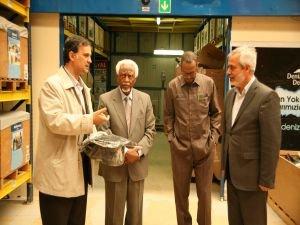 Sudan Eski Cumhurbaşkanı, Deniz Feneri Derneği'nde