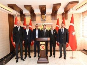 TBMM Başkanvekili Ahmet Aydın'dan Batman Valiliği'ne ziyaret