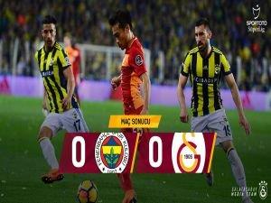 Kadıköy'de sessiz gece: 0-0