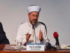Erbaş: Din eğitimi ve öğretimini yeniden ele almalıyız