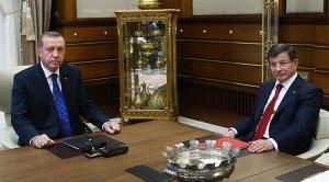 Başbakan Cumhurbaşkanı Erdoğan ile görüştü