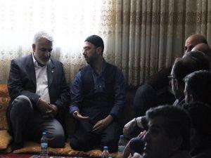 Yapıcıoğlu'ndan Yusufi Mustafa Dayan'a taziye ziyareti