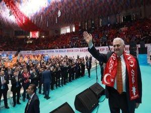 """Başbakan Yıldırım: """"Türkiye'nin güvenliği Suriye'den geçer"""""""