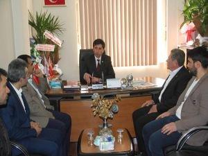 HÜDA PAR'dan oda başkanlarına ziyaret