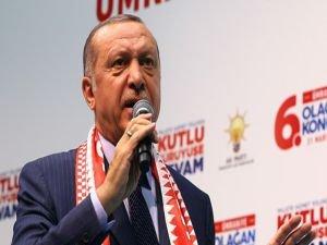 Cumhurbaşkanı Erdoğan'dan siyonistlere tepki