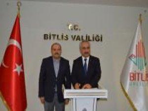 İçişleri Bakan Yardımcısı Ersoy Kayyımların çalışmalarını denetlemek üzere Bitlis'te