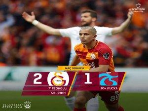 Cim bom Trabzon'u yenmeyi başardı: 2-1