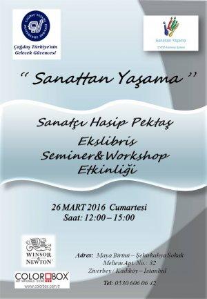 Ekslibris Sanatçısı Hasip Pektaş ile Seminer&Workshop