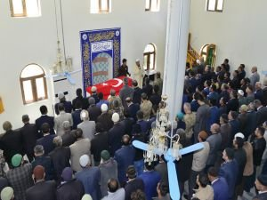 PKK saldırısında hayatını kaybeden güvenlik korucusu defnedildi