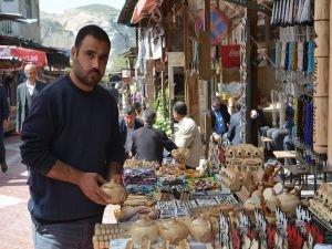 Hasankeyfli seyyar satıcılar işlerinin bitmesini istemiyor