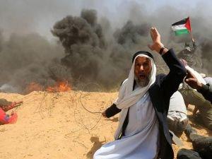 Gazze'deki gösterilerde 31 kişi şehit oldu