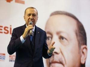 """Erdoğan: """"Bugüne kadar karşılaştığımız tüm saldırıları püskürttük"""""""