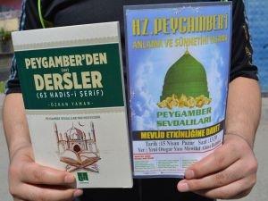 """""""Peygamber'den Dersler"""" kitabıyla mevlit etkinliğine davet"""