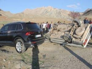 Doğubayazıt'ta trafik kazası