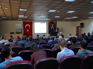 Sosyal hizmet merkezinden bilgilendirme toplantısı