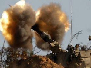 İşgal ordusu Gazze'ye saldırı düzenledi