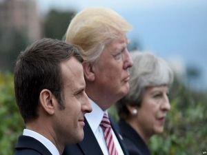 Macron: Trump İran ile anlaşmayı bozabilir