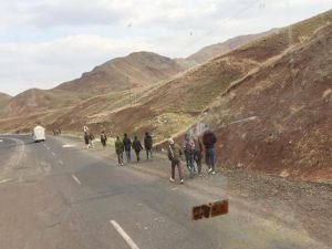 Afganlı göçmenlerin çileli yolculuğu