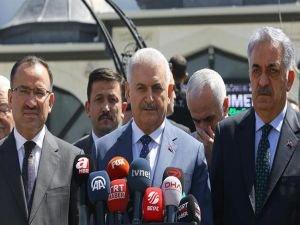 Başbakan: Suriye'ye yapılan operasyon olumlu bir adım