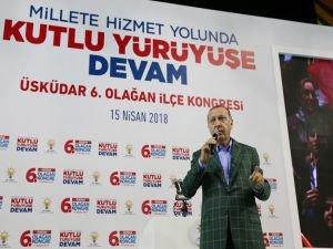 """Erdoğan: """"Suriye'de, Türkiye'nin olmadığı hiçbir adımın atılması mümkün değildir"""""""