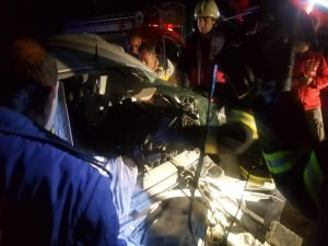 Batman'da feci trafik kazası: Bir ölü 10 yaralı
