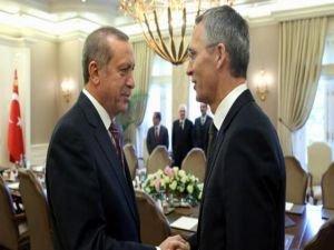 Cumhurbaşkanı Erdoğan Stoltenberg ile görüştü