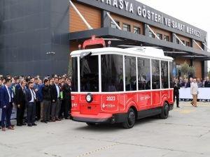 İBB'nin sürücüsüz ve elektrikli aracı tanıtıldı