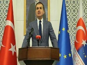 Bakan Çelik: AB Komisyonu raporu siyasi bir yaklaşım