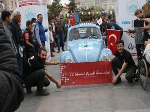 Ihlara Klasik Otomobil Festivali'nde Üniversite Öğrencilerinden Türkiye'de Bir İlk