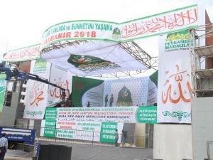Diyarbakır Mevlid etkinliği hazırlıklarında son aşamaya gelindi
