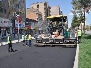 Batman'da 2. Kat asfalt serim çalışmaları başladı