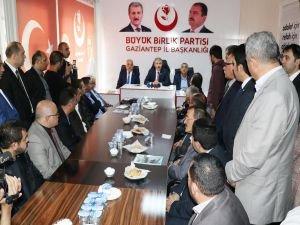 """Destici: """"Türkiye'nin bu seçim tartışmasını bitirmesi lazım"""""""