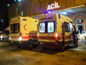 2 aracın karıştığı kazada 12 kişi yaralandı
