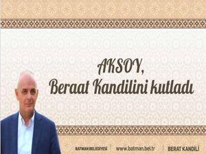 Aksoy, Beraat Kandilini kutladı