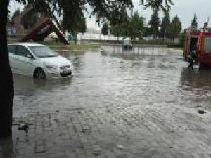 Gaziantep'te sağanak yağış etkili oldu