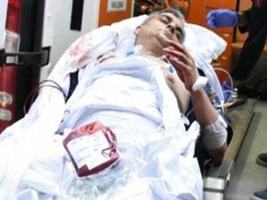Hacze giden avukat kâtibi silahlı saldırıya uğradı