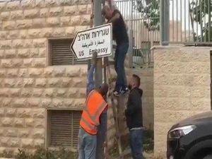ABD'nin Kudüs'te elçilik provokasyonu sürüyor