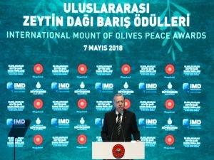 Erdoğan: İnsanlığın geleceğini, Filistin ve Kudüs meselesi belirleyecek