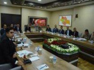 """Siirt'te """"Seçim Güvenliği Toplantısı"""" yapıldı"""