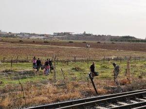 Sınırı geçmek isterken yakalandılar