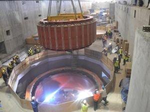Ilısu Barajı'nda son Rotor da yerine indirildi
